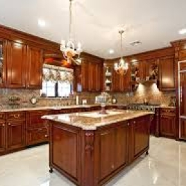 Wood Kitchen Design UAE