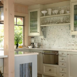 Kitchen Glass Doors